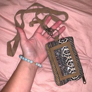 Earthbound Bohemian Mini Wrist Wallet w ID Holder